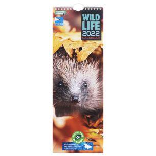 RSPB Wildlife 2022 Slim Calendar