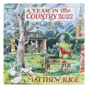 Matthew Rice 'A Year In The Country' 2022 Wall Calendar