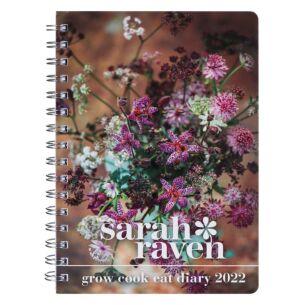 Sarah Raven 'Grow, Cook, Eat' Deluxe 2022 Desk Diary