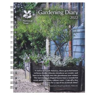 National Trust Gardening Deluxe 2022 Desk Diary