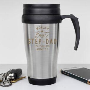 Personalised 'World's Best' Travel Mug