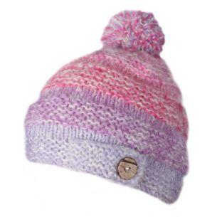 Sierra Nevada Pink Bobble Beanie Hat