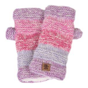 Sierra Nevada Pink Fingerless Gloves