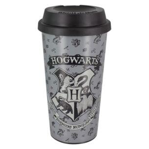 Hogwarts Grey Travel Mug