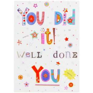 Paperlink Bits & Bobbins Congratulations Card