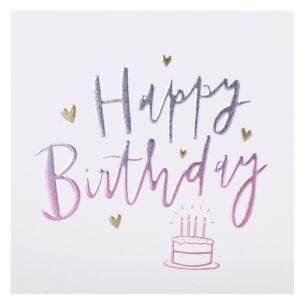 Cloud Nine 'Cake' Birthday Card