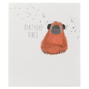 Paperlink Orangutan Birthday Card