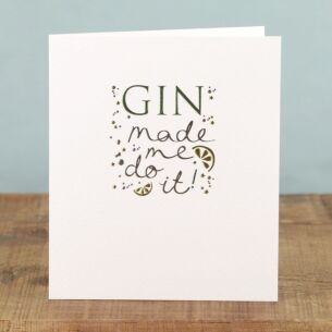 Paperlink Mimosa 'Gin' Card