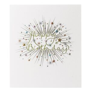 Paperlink Mimosa 'Happy Birthday' Card