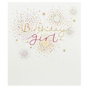Mimosa 'Birthday Girl' Greetings Card
