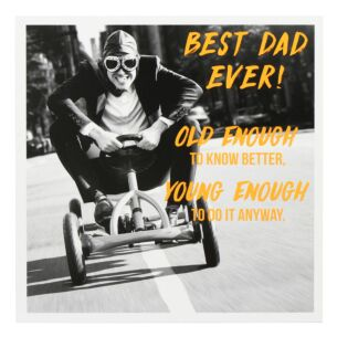 Old Enough Father's Day Card