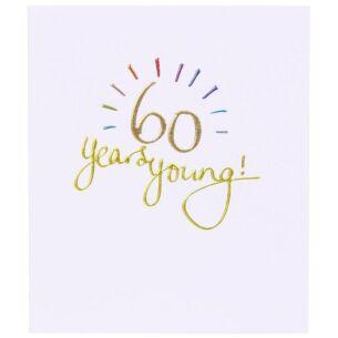 Mimosa 60th Birthday Card