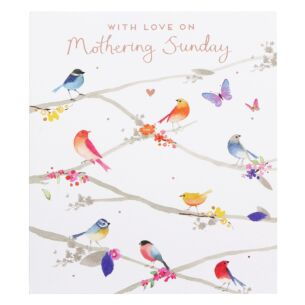 Birds On Branches Mother's Day Card