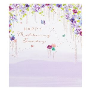 Flowers And Text Mother's Day Card