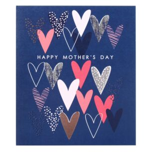 Mother's Day Hearts Mother's Day Card