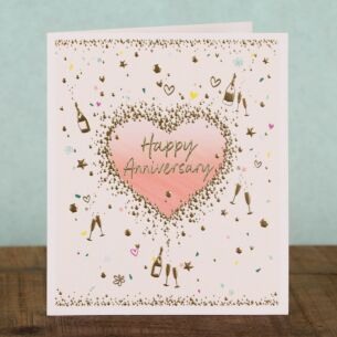 Forget Me Not Anniversary Card