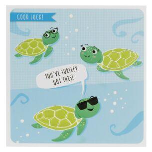 Froot Loop 'Good Luck' Greetings Card