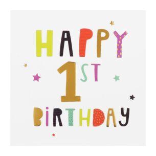 High Five 1st Birthday Card