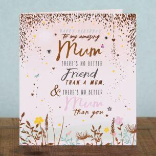 Love & Laughter Mum Birthday Card