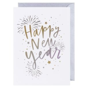 Cloud Nine Happy New Year Card