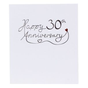 Mimosa 30th Wedding Anniversary Card