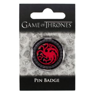 Game of Thrones House Targaryen Pin Badge