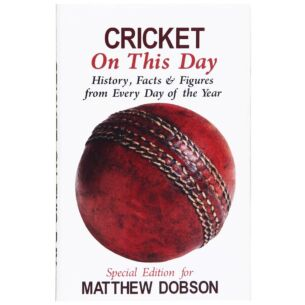 Personalised Cricket On This Day Hardback Book
