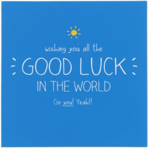 Wishing You All The Good Luck In The World Card