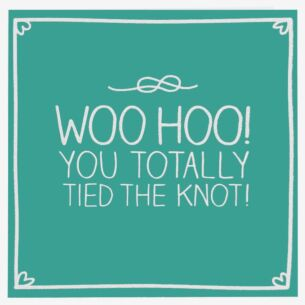 Totally Tied The Knot Card