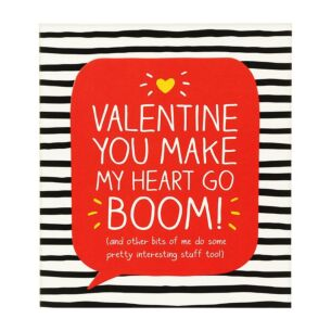 Make My Heart Go Boom Valentine Card