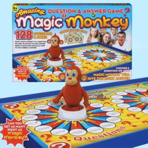 Magic Monkey Question & Answer Game