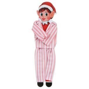 Elves Behavin Badly Miniature Elf Pyjamas - Pink