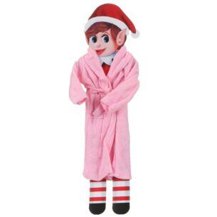 Elves Behavin Badly Miniature Elf Dressing Gown - Pink