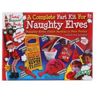 Elves Behavin' Badly Naughty Elves' Fart Kit