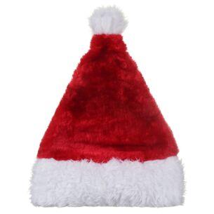 Luxury Plush Santa Hat