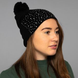 Black Diamond Bobble Hat
