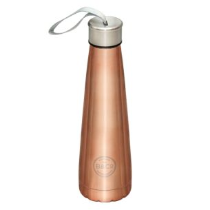 Rose Gold 450ml Conical Water Bottle