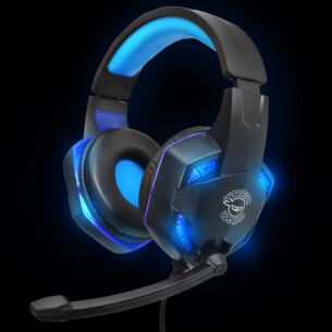 Pro Gaming Blue LED Headset