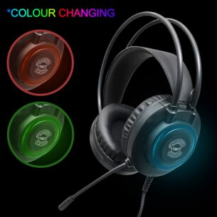 Pro Gaming Colour Changing LED Headset