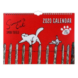 Simon's Cat 2020 Family Wall Calendar
