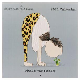 Rosie Made A Thing 2021 Wall Calendar