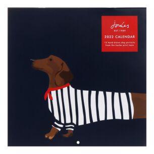 'Dog Portraits' Square 2022 Family Calendar