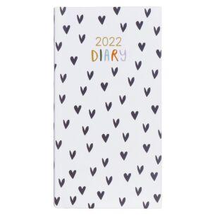 'Hearts' 2022 Slim Diary