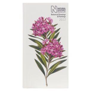 NHM Botanical Drawings 2022 Slim Diary