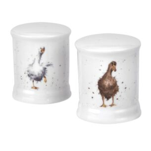 Ducks Salt and Pepper Shakers from Royal Worcester