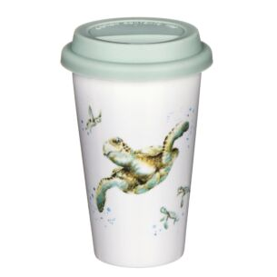 Travel Mug Turtle From Royal Worcester