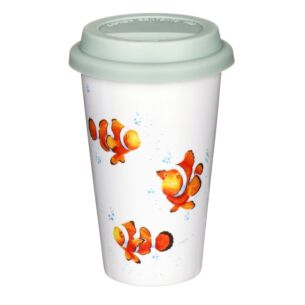Travel Mug Clown Fish From Royal Worcester