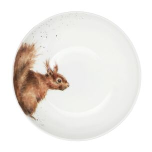 8.6'' Coupe Bowl Squirrel From Royal Worcester