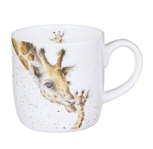 First Kiss Giraffe Mug From Royal Worcester