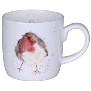 Wrendale 'Garden Friend' Robin Mug from Royal Worcester